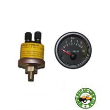 Kit manómetro pressão de óleo